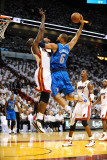 Dallas Mavericks vs. Miami Heat - Game 1, Miami, FL - MAY 31: Tyson Chandler and Joel Anthony Photographic Print by Garrett Ellwood