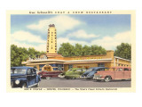 Chat and Chew Drive-In, Roadside Retro Posters