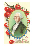 Washington's Birthday, Cherries Posters