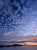 View of Northern Yasawa Island from Matacawalevu Island, Yasawa Chain, Fiji Fotodruck von Michele Falzone