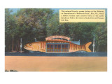 Fish-Shaped Drive-In, Roadside Retro Prints