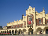 Main Market Square and the Cloth Hall, Cracow (Krakow), Poland Photographic Print by Steve Vidler