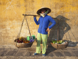 Vietnam, Hoi An, Fruit Vendor Photographic Print by Steve Vidler