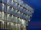 Germany, State of Hamburg, Hamburg, Elbmeile, Hamburg Dockland Office Building Photographic Print by Walter Bibikow