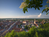 Germany, Bavaria (Bayern), Landshut, Twon Skyline Photographic Print by Alan Copson