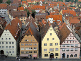 Tradional Houses Rothenburg Ob Der Tauber, Bavaria, Germany Photographic Print by Rex Butcher