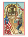 Ringing the Liberty Bell Posters
