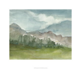Plein Air Mountain View II Limited Edition by Ethan Harper