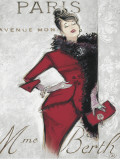 Paris Style Femme Prints by Chad Barrett