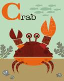 Crab Kunst af Jenn Ski