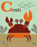 Crab Art by Jenn Ski