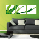 Green Splash Wall Decal