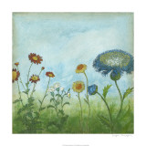 Antique Floral Meadow II Limited Edition by Megan Meagher