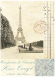 Paris Early Dawn Print by Cristin Atria
