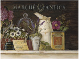 Marche Antica Vignette Detail Prints by Angela Staehling