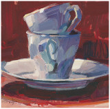 Two Cups I Prints by Patti Mollica