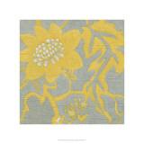 Buttercup Botanical IV Premium Giclee-trykk av Chariklia Zarris