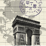 Arc de Triomphe Prints by  Z Studio