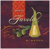 Tavola D'Oliva Print by Angela Staehling