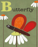 Butterfly Posters by Jenn Ski