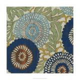 Indigo Sakura II Premium Giclee Print by Chariklia Zarris