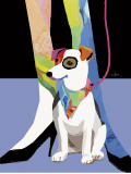 Bandana Dog Posters by Patti Mollica