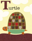 Turtle Poster by Jenn Ski