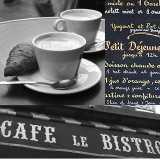French Café I Poster by Cameron Duprais