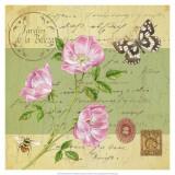 Beautiful Garden III Print by Jane Maday