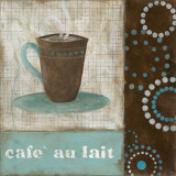 Caf&#233; au Lait Print by Carol Robinson