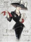 New York Style Lady Kunstdrucke von Chad Barrett
