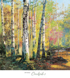 Creekside I Prints by Jie Zhou