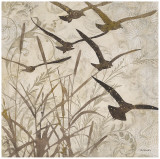 Birds in Flight I Art by Melissa Pluch