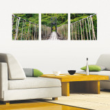 Rope Bridge Wall Decal