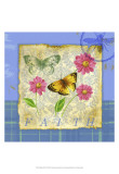 Papillon Plaid II Prints by Jane Maday