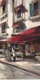 Café Toulouse Prints by Brent Heighton
