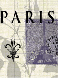 Paris Stamp Posters by  Z Studio