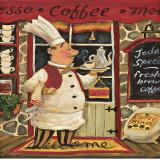 Coffee Chef Prints by K. Tobin