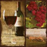 Burgundy Poster by Carol Robinson