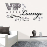 Vip Lounge wandtattoos
