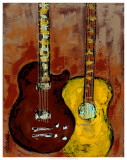 Six Strings II Posters by Deann Herbert