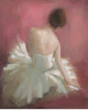 Ballerina Dreaming I Print by Patrick Mcgannon