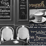 French Café II Prints by Cameron Duprais