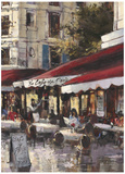 Avenue des Champs-Elysees II Prints by Brent Heighton