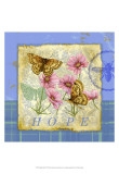 Papillon Plaid III Posters by Jane Maday