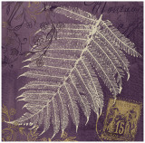 Lavender Fern Art by Booker Morey
