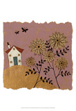 House of Whimsy IV Prints by Helen Rhodes