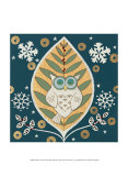 Winter Owl Prints by Helen Rhodes