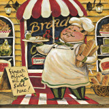 Bread Chef Posters by K. Tobin