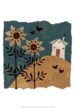 House of Whimsy II Prints by Helen Rhodes